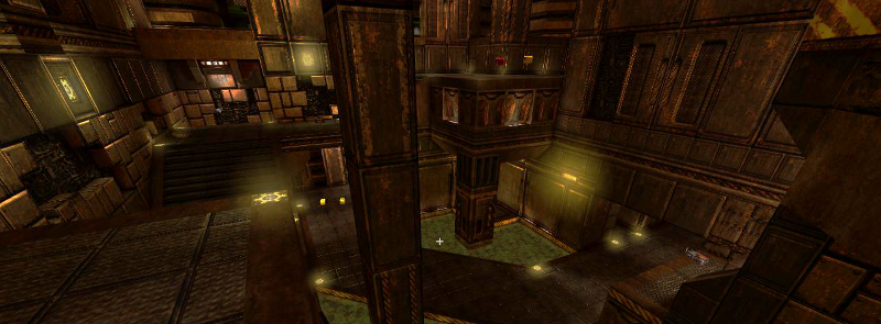 Quake III Arena maps by spirit